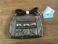 Kathy Van Zeeland  Monte Carlo Top Zip x-body cork  Bag Handbag new with tags,