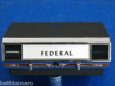 VINTAGE NOS FEDERAL 8 TRACK PLAYER UNDER DASH MOUNT CS-809 STEREO