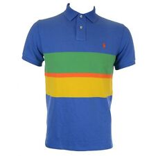Ralph Lauren Men's Regular Short Sleeve Striped Casual Shirts & Tops