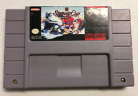☆ NHL Stanley Cup (Super Nintendo 1993) SNES AUTHENTIC Game Cart Tested Works ☆