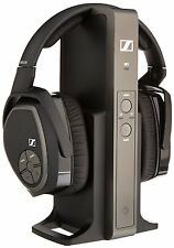 Sennheiser RS175 RS 175 RF Wireless Digital Headphone Sound System TV Music