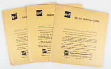 COLOR PRINTING FILTERS 6 INCH MAGENTA 25M/40M/50M SET OF 3