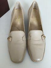 Amalfi  by RANGONI  Italian Leather  Low Block Heel Court Shoes Size 5