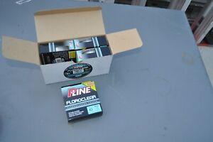 P Line Floroclear 10lb 600 Yds Fluorocarbon Coated CASE OF 4  2400 YDS TOTAL