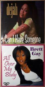 DEJAH - Can I Have Someone & BRETT GAY - All Over My Body - 2 CD Single R&B Rnb