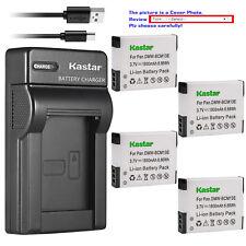 Kastar Battery Slim Charger for Panasonic DMW-BCM13 & Panasonic Lumix DMC-ZS50