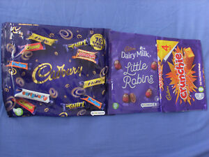 British Cadbury Chocolate Wrappers.
