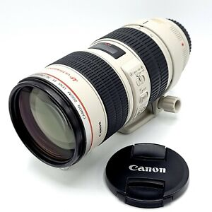Canon EF 70-200mm f2.8 L IS USM Telephoto Zoom Lens