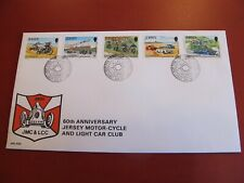 1980 Jersey / Channel Island PC / First Day Cover- Jersey Motorcycle & car club