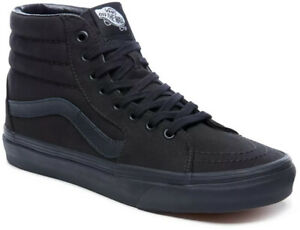 VANS Sneaker Schuhe SK8-HI Schuh 2021 black/black Freizeit Sportschuhe