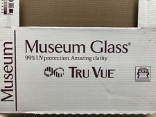 "2 Pieces 8"" x 10"" Tru Vue Museum Picture Frame Glass (1912M)"