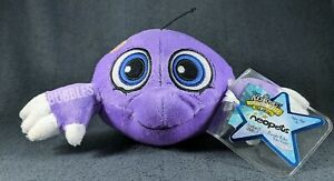 NWT 2008 Series 6 Purple Kiko Neopets Keyquest Plushie Stuffed Animal w/CODE