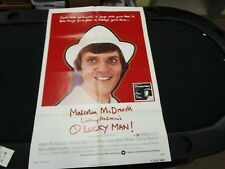 One Sheet Movie Poster O Lucky Man 1973 Malcolm McDowell Ralph Richardson