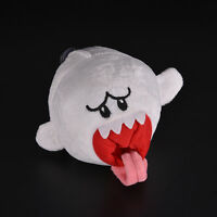 1 Pcs Ghost White Stuffed Plush Doll Toy for Super Mario Brothers Boo Ghost~ZP#