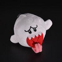 1 PC fantôme blanc peluche poupée jouet pour Super Mario Brothers Boo Ghost  BB