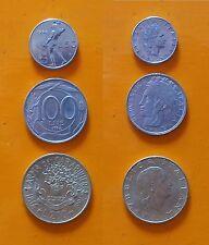Repubblica Italiana 50 Lire + 100 Lire + 200 Lire Arma dei Carabinieri anno 1994