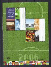 Bund Block 67 (Fussball - Weltmeisterschaft) postfrisch + gestempelt im Folder