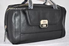 GUESS Marciano Melanya Box Satchel Bag Purse Handbag Sac Black White Multi New