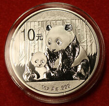 2012 CHINESE PANDA DESIGN 1 OZ .999% SILVER ROUND BULLION COLLECTOR COIN GIFT