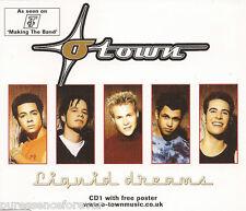 O-TOWN - Liquid Dreams (UK 3 Tk CD Single Pt 1/No Poster)