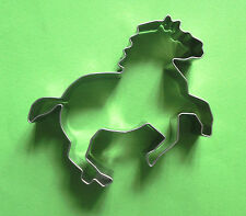 Mustang wild animal horse baking metal  stainless steel cookie cutter mold