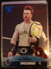 2013 Topps Best of WWE Top Ten WWE Champions #6 Sheamus