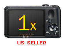 1x Sony CyberShot DSC-H90 Clear LCD Screen Protector Guard Shield Film