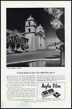 1939 vintage ad for AGFA photographic film -42