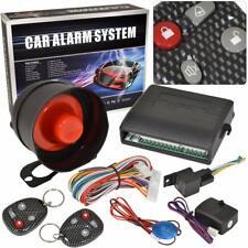 Car Auto Vehicle Burglar Alarm Protection Security System With 2 Remote Keys
