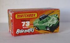 Repro Box Matchbox Superfast Nr.73 Weasel