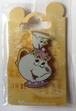 Pins Disney Belle Et La Bête Mme Samovar Zip Mrs Potts Chip