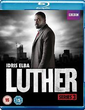 Luther Complete Series 3 Blu Ray All Episodes Third Season Original UK Release