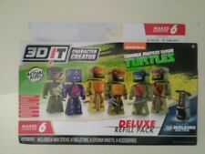 (5252) 3Dit Character Creator Tmnt Deluxe Refill Pack
