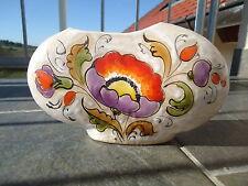 Tolle Keramik Tisch-Vase von G.Frasnelli im bauchigem Design 70er Jahre Top erha