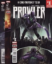 THE PROWLER #1,2,3,4,5,6 Marvel Comics A CLONE CONSPIRACY TIE-IN! Spider-Man SET