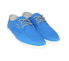 Scarpe da uomo blu Lacoste in tela