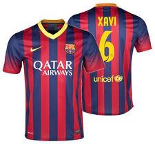 NIKE XAVI HERNANDEZ FC BARCELONA HOME JERSEY 2013/14