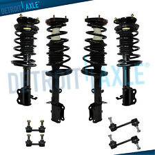 Front + Rear Struts & Coil Spring Sway Bars for 1993-2002 Toyota Corolla Prizm