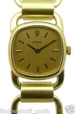 ROLEX DESIGNER ARMBANDUHR AUS DEN 1970er JAHREN - MASSIV 18ct GOLD - DAMEN