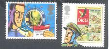 Dan Dare 2 stamps mnh Great Britain-Comics