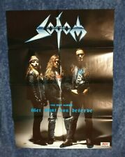 SODOM - Get What You Deserve POSTER (84cm x 59cm)