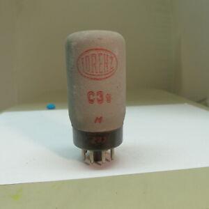 1x Lorenz C3e Post Röhre testet NOS 14 mA Tube Valve Elektroröhre