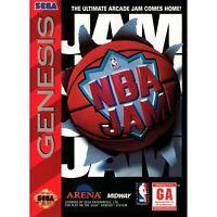 NBA Jam - Sega Genesis Game *CLEAN VG