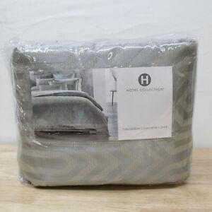 Hotel Collection FULL/QUEEN Duvet Cover Lithos Gray J0Z200