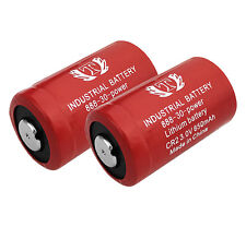 2 Pcs for Panasonic CR2 3.0V 15270 Lithium Battery - EXTENDED 2 YEAR WARRANTY