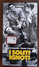 CS4> FILM VHS I SOLITI IGNOTI CON V. GASSMAN E R. SALVATORI
