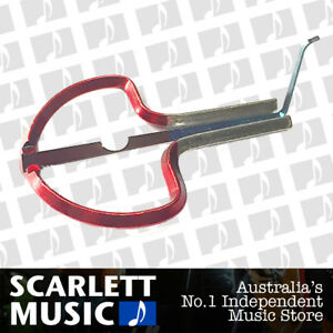 OZARK Steel Frame RED Jaws Jews Mouth Harp *BRAND NEW*