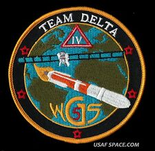 ORIGINAL WGS 5 - WIDEBAND GLOBAL SATCOM  - DELTA IV  USAF SATELLITE SPACE PATCH