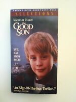 The Good Son (VHS, 1994) Macaulay Caulkin Elijah Wood 90s Thriller - Free Ship
