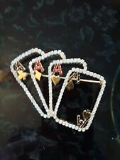 4 Aces Fashion Casino Pin Brooch